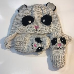 🎀4/$15 Children's Place Hat and Gloves Set 4-5T